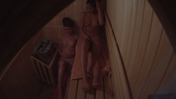 Spying on girls in a sauna