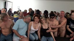 CZECH AMATEUR MASSACRE! THE WILDEST ACTION AROUND! The most amazing series of gang bang events in the world! Covere